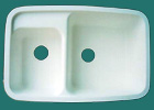 solid surface kitchen sink - D-3221