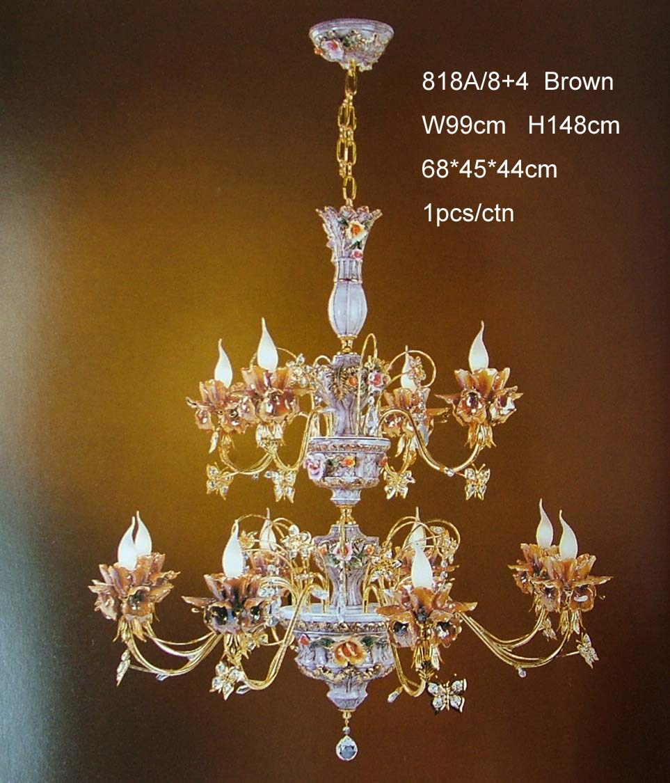 Ceramic chandelier lamp 818a84 arubaitofo Image collections