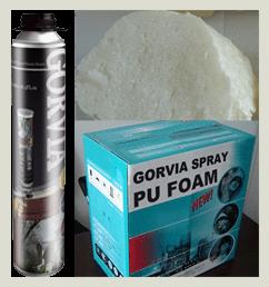 Spray PU foam sealant - OG750