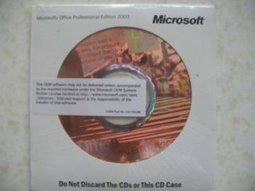 Registered&Upgraded MS Office2003 Software - Not Expensive