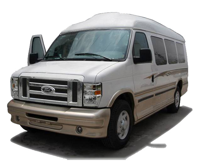 bullet proof car - DMT-Ford E350-