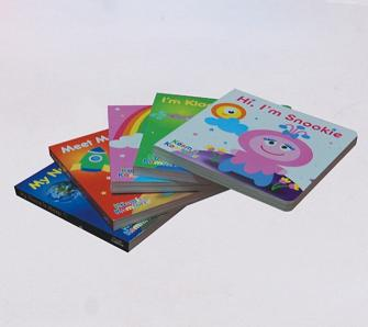 Board Book Printing in Beijing China - 1-3
