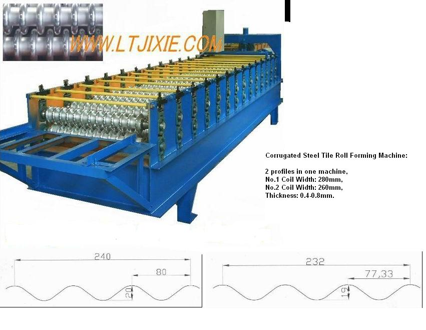 Roof Panel Roll Forming Machine - LT-Roof panel