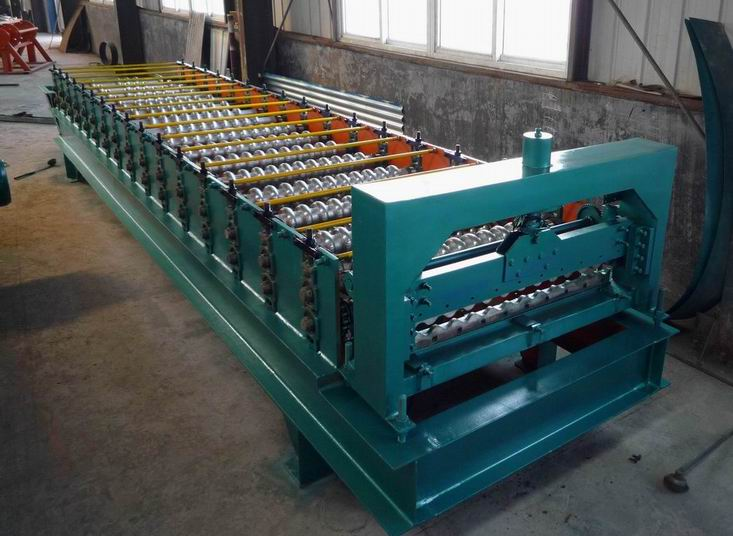 Corrugated Tile Roll Forming Machine - LT18-76-762