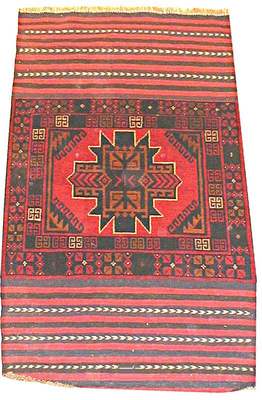 Afghan Tribal Rug 10