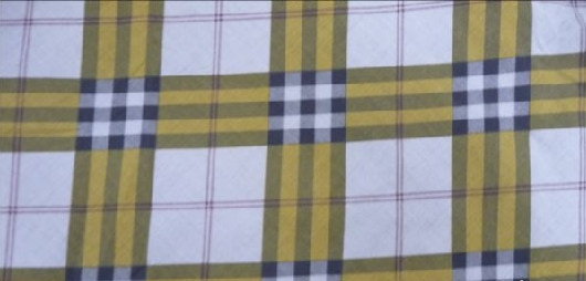 100 % polyester checks fabrics - CT-010