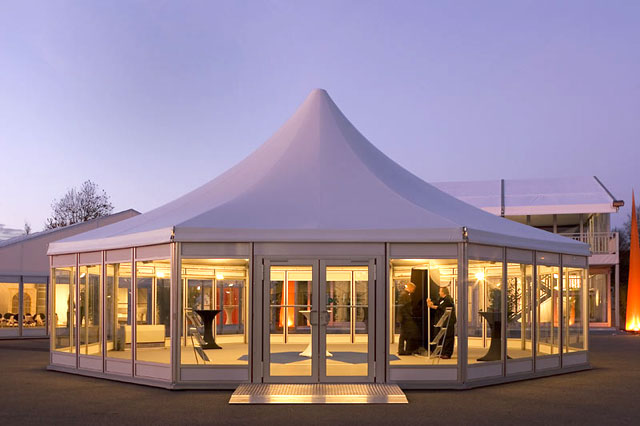& Octagon tent big tent party tent event tent - deyi 15 oct