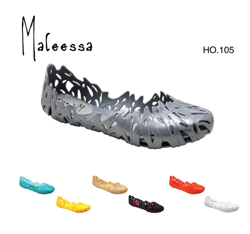 pvc lady's jelly slippers,sandals, - HO105
