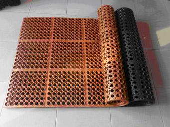 Anti fatigue rubber mat - km105.