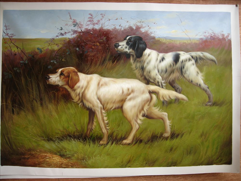Animal oil painting an009 for Animal oil paintings