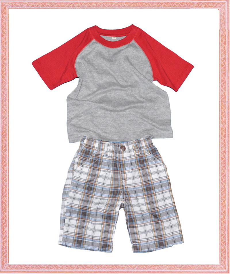 boys garments set-t shirt and shorts - PH11N2403