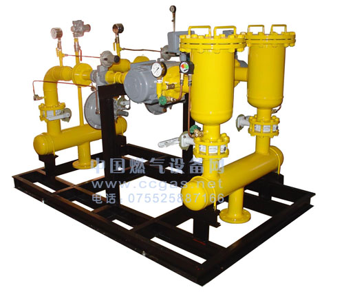 Natural gas regulator box/cabinet - gas regulator