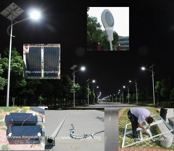 solar street light - TTK-SLT