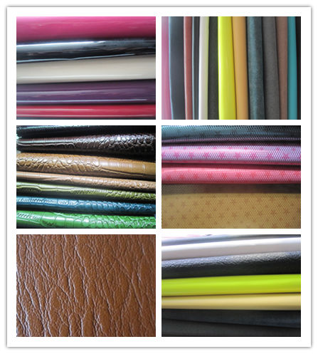 100% PU leather with new design - D4175