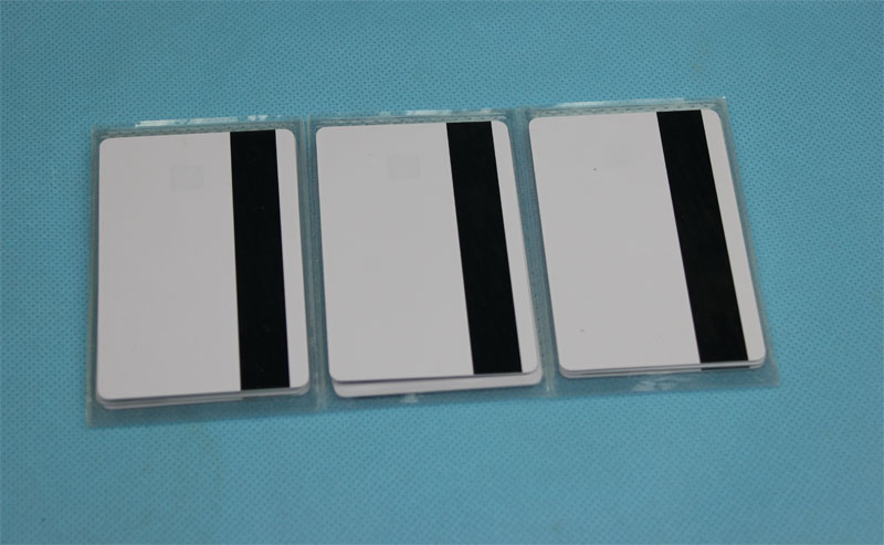 Blank Mag Strip Inkjet PVC ID Cards - magnetic card