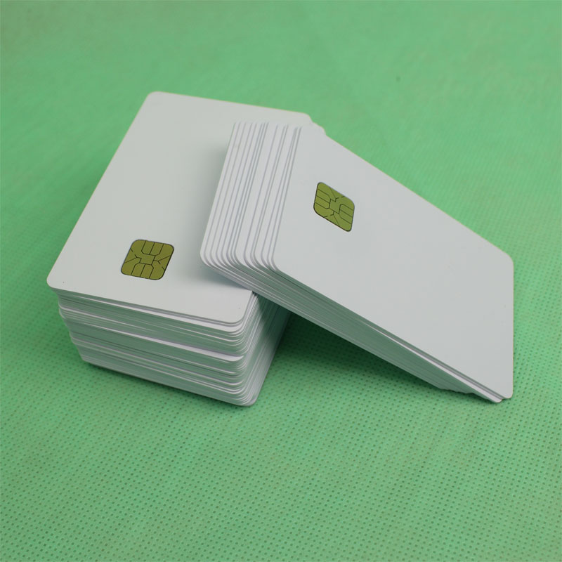 inkjet contact IC cards (smart cards) - chip card