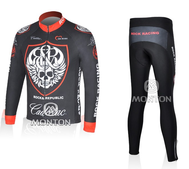 2012 rock  long sleeve cycling wear - lscw -rock1