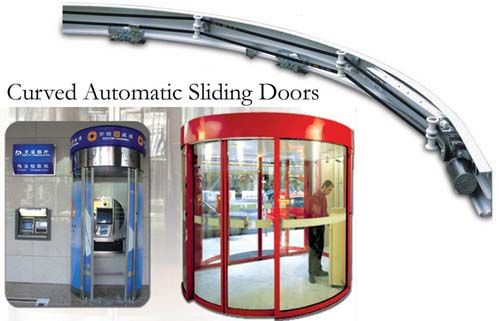 [MW]250B curved automatic sliding doors - 250