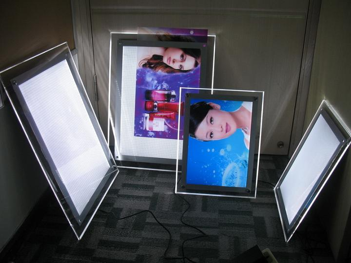 Slim crystal light box - Slim crystal light box