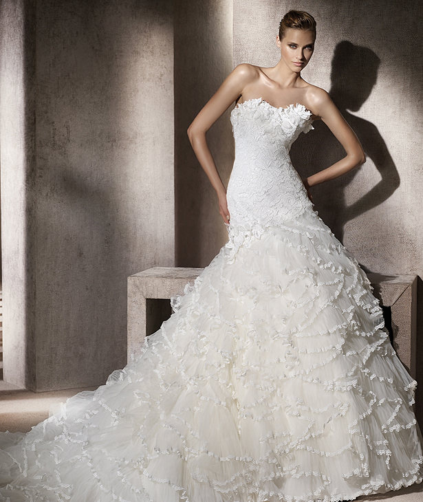 Ball Gown Wedding Dresses - WD110145