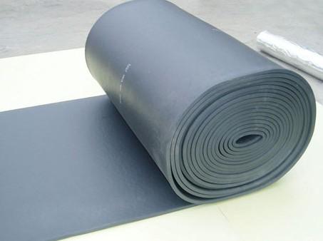 Grade b1 rubber sponge insulation board glass wool for Glass fiber board insulation
