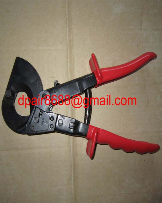 Ratcheting Cable cutter - dpair