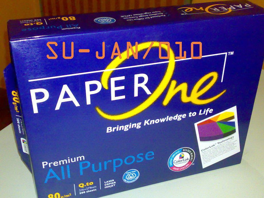 Paper One All Purpose Q to 80gsm - 3601288