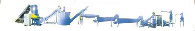 PET,PE,PP Used-Plastic Recyling Production Line - DX