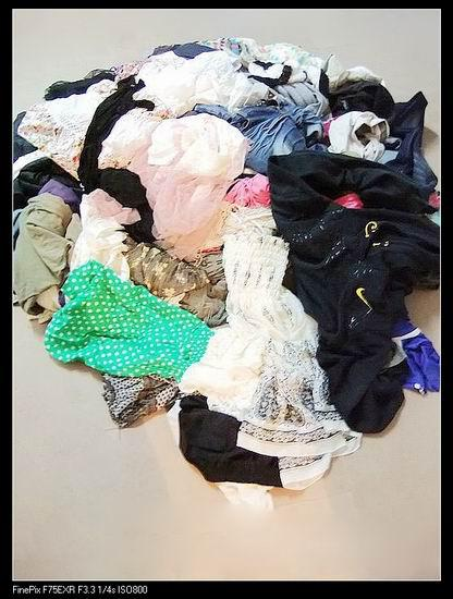 Women's fashion used clothes - mixed