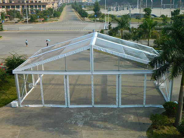 New Transparent Marquee Tent - 10