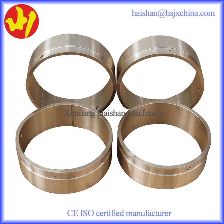 Customised excavator bronze bushing thin wall bearing oen