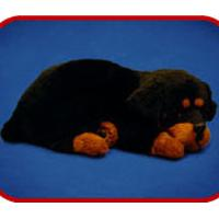 Large picture fur animal toy, sleeping pets, sleeping dog, sleep