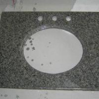 Large picture granite countertop