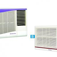 Large picture window air conditioner
