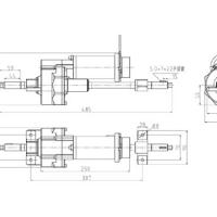 Large picture electric transaxle