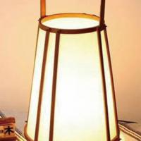 Large picture bamboo lamp