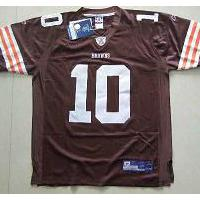 Large picture NFL Browns QUINN Coffee Replica Jersey