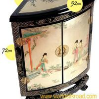 Large picture Hand-painted lacquer furniture