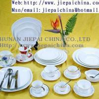 Large picture 16pcs stoneware hand-painted dinner set