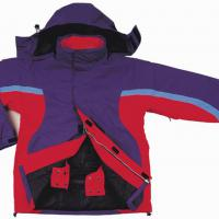 Large picture skiing jacket