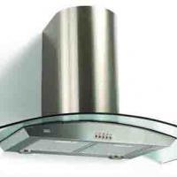 Large picture range hood