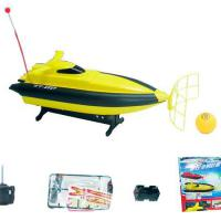 Large picture R/C Boat with Football Game