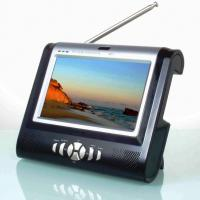 "Large picture 7"" TFT LCD TV (Analogue, DVB-T or Hybrid system)"