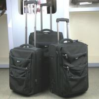 Large picture trolley case, luggage