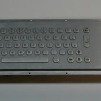 Large picture metal keyboard with trackball