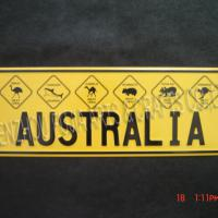 Large picture License Plate and Frames