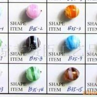 Large picture glass beads