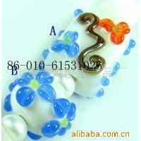 Large picture glass bead