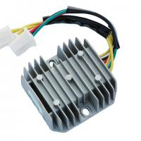 Large picture regulator for motorcycle