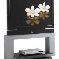 Large picture Glass LCD TV Stand